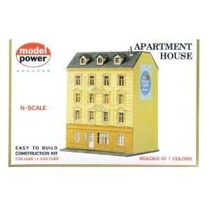 Apartment House Building Kit N Scale Model Power Toys & Games