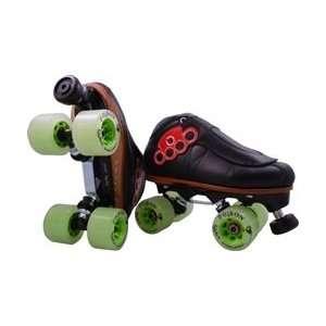 Brass Knuckle 2.0 Invader Poison Derby Skates: Sports