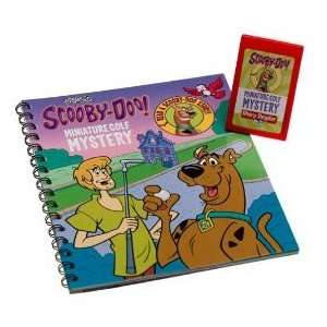 Story Reader Book Scooby Doo Minature Golf Mystery Toys & Games