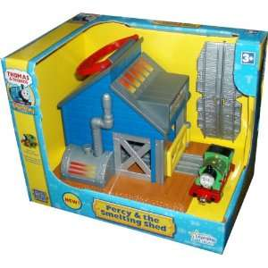 Tracks and 1 Sodor Scrap Metal Recycling Smelting Shed: Toys & Games