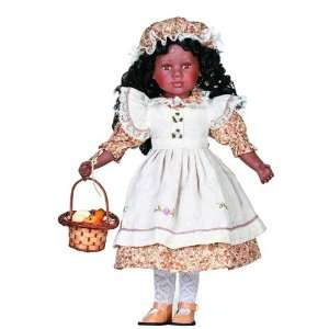 Dennell, 20 African American Porcelain Doll oys & Games