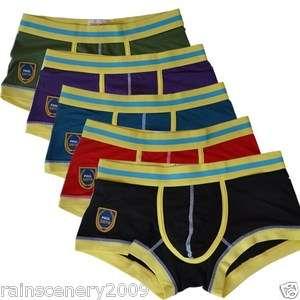 Sexy New Man Boys Teenage Underwear Mens Boxer Brief S M L XL Size 6