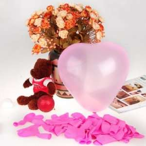 Heart Shaped Latex Balloons Wedding Party Decor Favors 12 Inch Pink