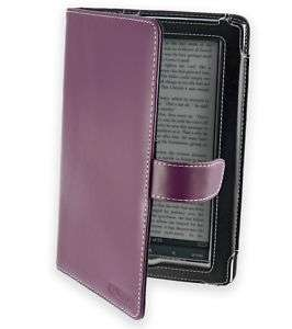 Cover Up Sony PRS 950 Daily Edition Purple Leather Case