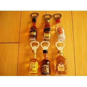 Liquor Bottle Opener & Magnet one piece (Assorted)