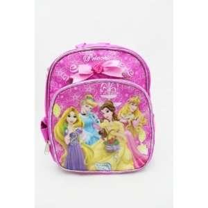 Disney Princess Pink School 10 Mini Backpack Bag   Tangled Rapunzel