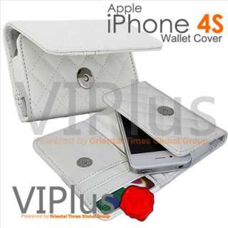 Travel Case Purse Wallet Card Holder Apple iPhone 4 4S 3G 3GS iPod
