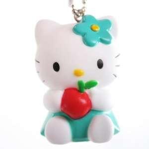Hello Kitty Flasher Light   Dark Green w/ Apple Toys & Games