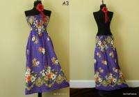 Rayon Summer Beach Sun Dress Skirt Boho Hobo Floral New