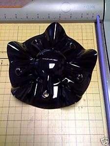 KMC SS Black Wheel RIM Parts Replacement Cover Center Cap Screw In