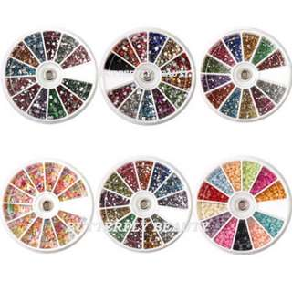 item descritption super deal these nail art rhinestones comprise of