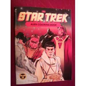 The Star Trek Alien Coloring Book: Peter Trewin, Paul