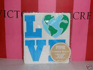 Victorias Secret PINK*LOVE*Earth Window Decal/Sticker