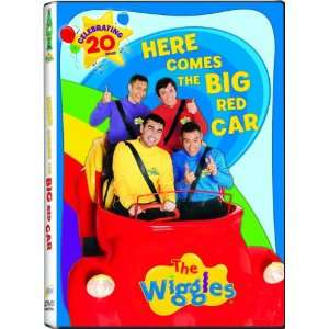 Wiggles Here Comes the Big Red Car Greg Page, Murray