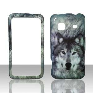 Snow wolf Samsung Galaxy Precedent Straight Talk Phone