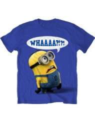 Despicable Me Whaaa Minion T shirt