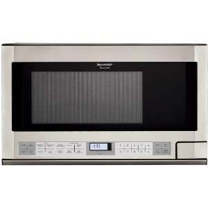 R1214 Sharp Over the Counter Microwave Oven