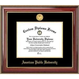 American Public University Volunteers   Gold Medallion   Mahogany Gold