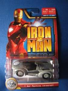 NEW IRON MAN 2 MAISTO 2010 WAR MACHINE (ARMORED)DIECAST