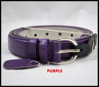 New Womens Skinny Leather Belts (6 Different Color) S,M,L,XL # 3