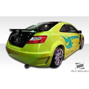 2006 2011 Honda Civic 2DR Duraflex Hot Wheels Widebody Rear Fender