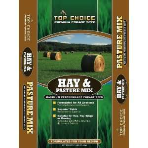 Hay and Pasture Grass Seed Mixture, 25 Pound Patio, Lawn & Garden