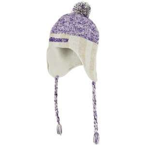 Washington Huskies adidas Originals Heathered Tassel Knit