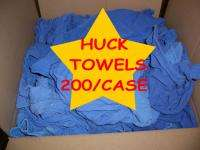 BLUE HUCK CLEANING CLOTH SHOP WINDOW TOWELS WINDOW CLEANING