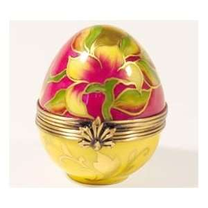 Colorful Egg French Porcelain Limoges Box