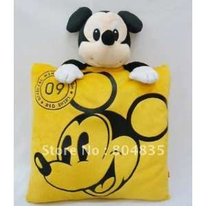 pillow stuffed plush cuddly pillow mickey mouse cushion by ems Toys