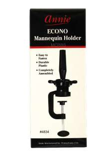 ANNIE COSMETOLOGY MANNEQUIN HEAD HOLDER STAND