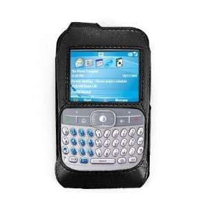 Kroo Black Leather Forza Case Protector for Motorola Q