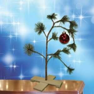 Musical Peanuts Charlie Brown Tabletop Christmas Tree