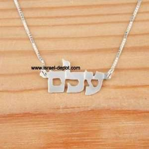 Negative Thoughts Kabbalah Silver Necklace God Name: Everything Else