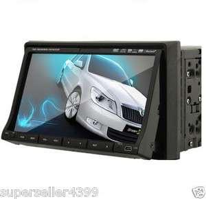 Din 7 In dash Car Stereo CD DVD Player Head Unit Radio Ipod Bluetooth