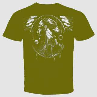 Dream Catcher american eagle indian native T Shirt