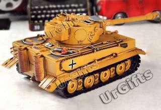 Hand Made Metal Art Bar Decor Model 136 WWII German Heavy Tiger Tank
