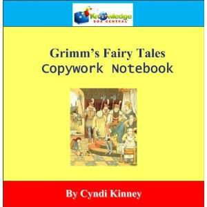 Grimms Fairy Tales Copywork Notebook   CD (9781616252489