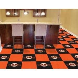 San Francisco Giants 20 Pk Area/Sports/Game Room Carpet/Rug Tiles