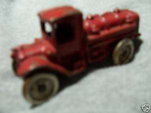 Arcade Cast Iron Tanker Truck   Chrome Steel Wheels