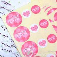 150pcs Especially for you Stickers Packing Materials