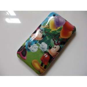Disney Mickey & Minnie Mouse Hard Cover Case iPhone 3G 3GS Cute + Free