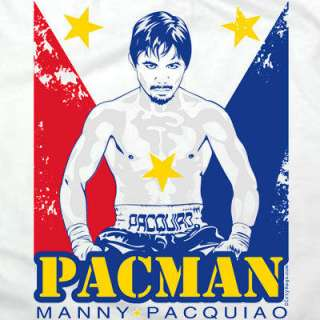 Manny Pacquiao pacman flag T shirt Filipino philippines