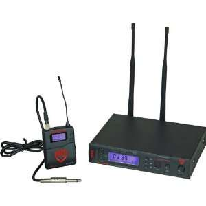 Nady W 1KU Instrument Wireless System Band 1 Musical Instruments