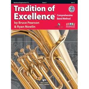 of Excellence w/DVD Book 1   Baritone TC Musical Instruments