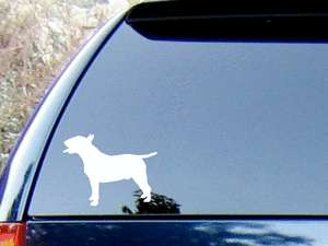 Bull Terrier #2 Vinyl Decal Sticker/Color HIGH QUALITY