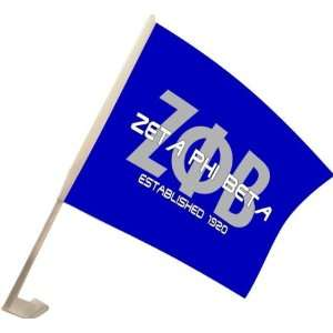 Zeta Phi Beta Car Flag: Everything Else