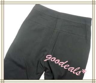 Ladys Stretch Skinny Sweat Pants Women Elastic High Waisted Pants