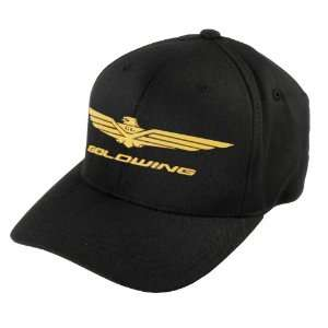 Honda Collection Gold Wing Hat , Color: Black, Size: Lg XL 8140 HTR005