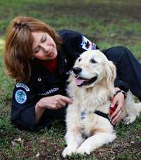 of the Missing Love and Partnership with a Search and Rescue Dog